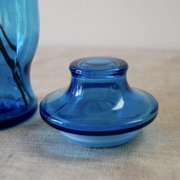 Pot apothicaire bleu Lever