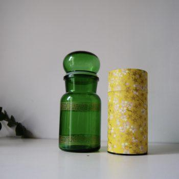 Pot apothicaire vert