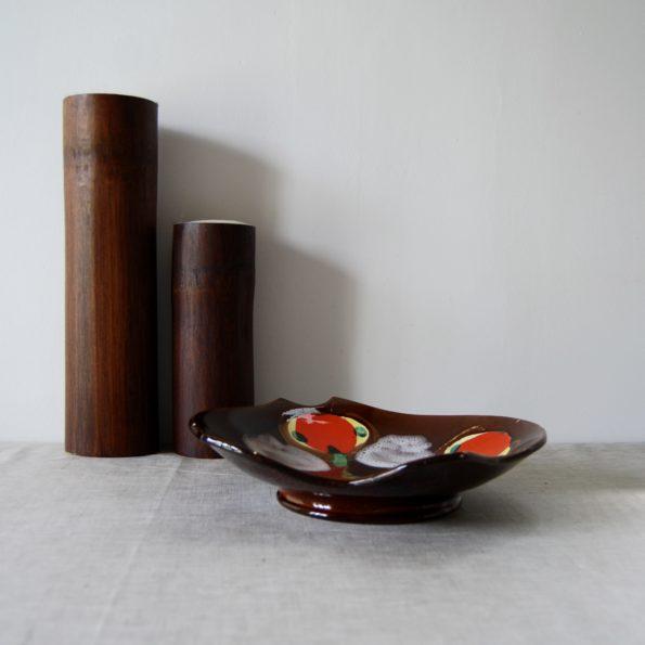 Plat en céramique vintage Vercor