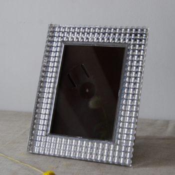 Cadre photo vintage plastique transparent
