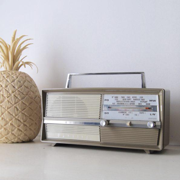 Poste radio vintage Optalix