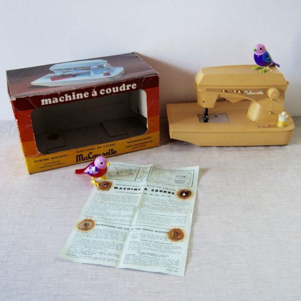 Machine à coudre vintage Ma cousette