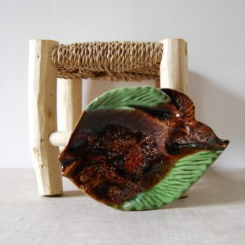 Petit plat poisson style Vallauris
