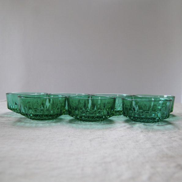 Ramequins Arcoroc France vert