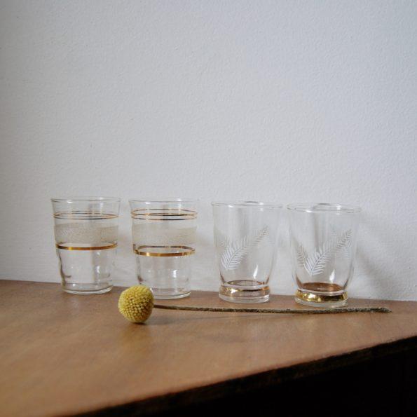 Petits verres granité