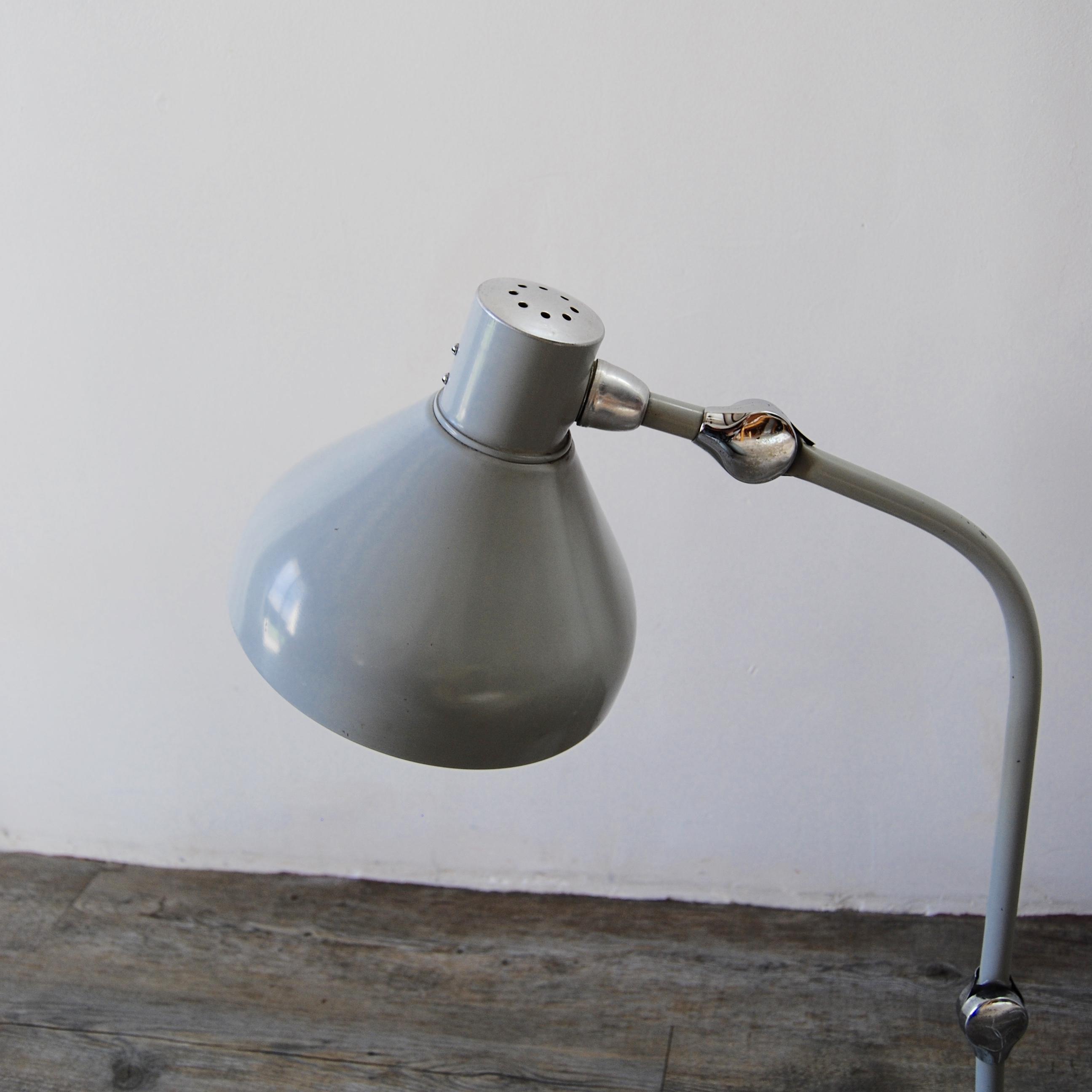 Lampe Industrielle Jumo Gs1 Grise Brocante Avenue