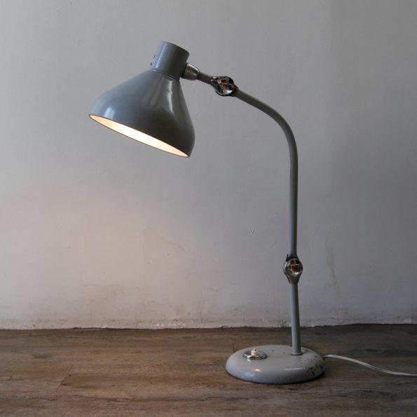 Lampe industrielle Jumo GS1 grise