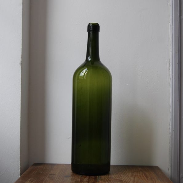 Grande bouteille verte