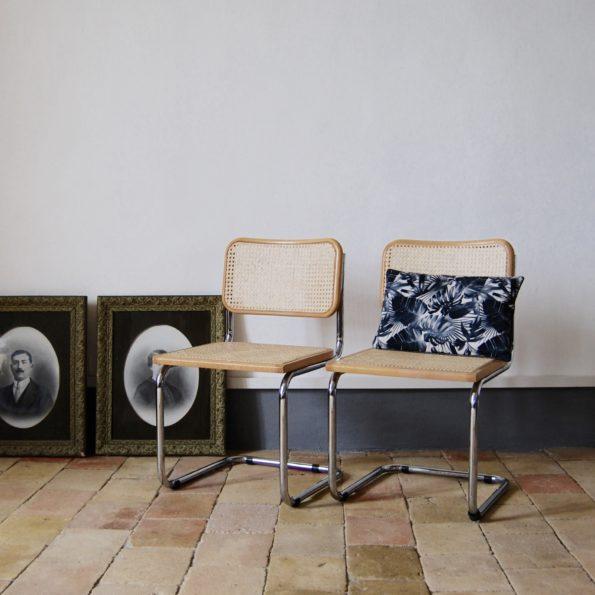 Paire de chaises Marcel Breuer modèle B32