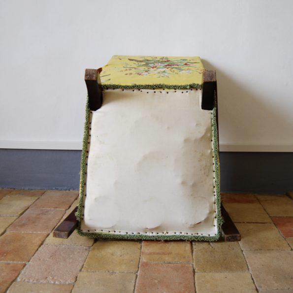 Fauteuil studio jaune
