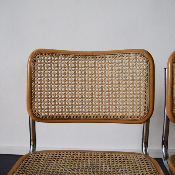 Chaises Marcel Breuer B32