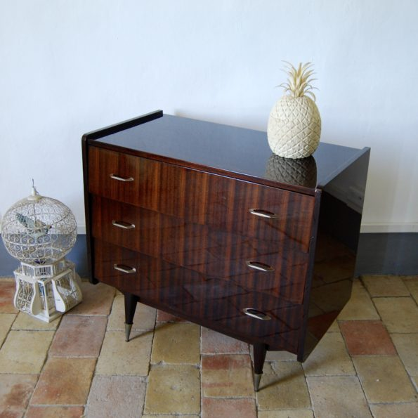 Commode vintage vernie