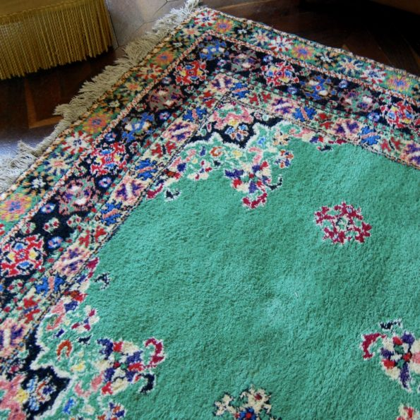 Tapis marocain multicolore