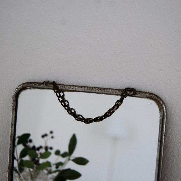 Petit miroir barbier vintage