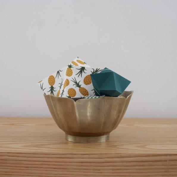 Coupe bol en laiton