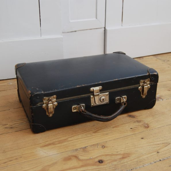 Valise vintage noir