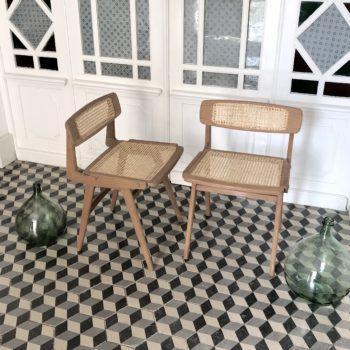 Chaise designer français Roger Landault