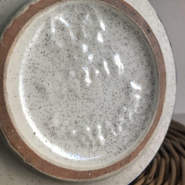 Vase céramique West Germany bleu