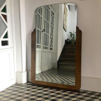 Miroir Art Déco années 1930 biseauté