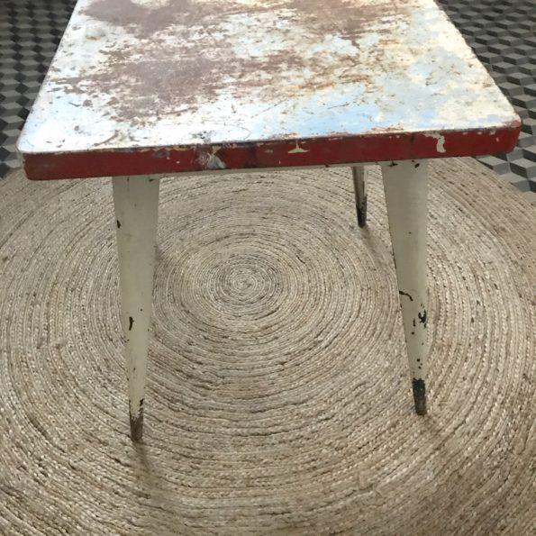 Table Tolix métal