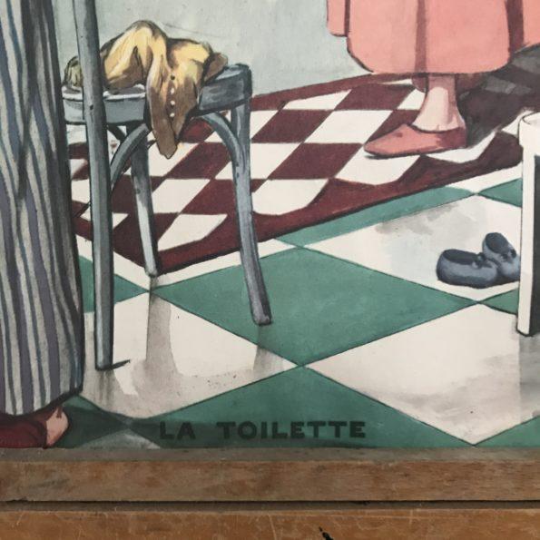 Affiches scolaires éditions Rossignol vintage