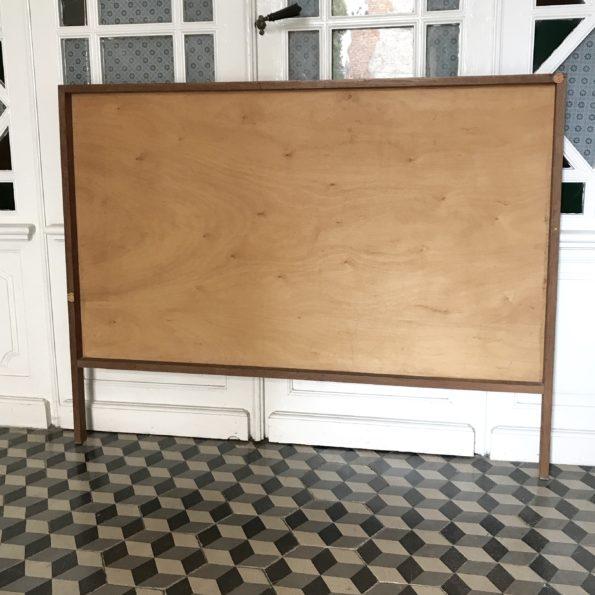 Tête de lit en bois vintage