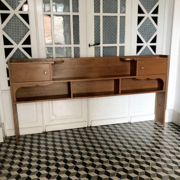 Cosy en bois vintage