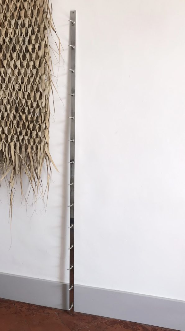 Patères murales en acier crochets de boucherie