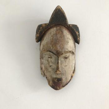 Masque ancien africain Gabon mariage en bois