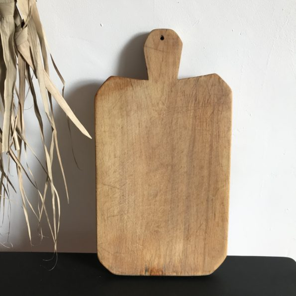 Planche à découper ancienne en bois