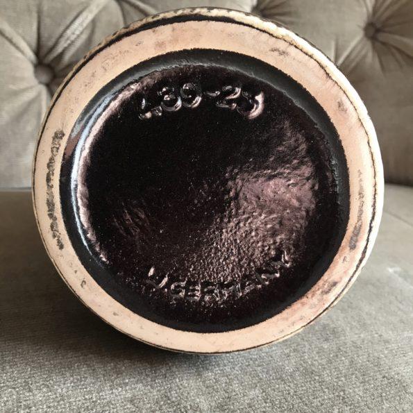 Vase en céramique West Germany numéroté