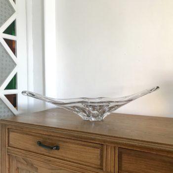 Coupe à fruits en cristal décoration déco verre