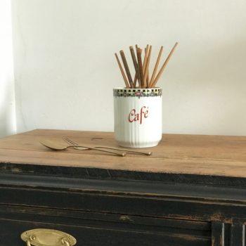 Pot à épices Café vintage
