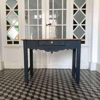 Table ancienne en bois vintage