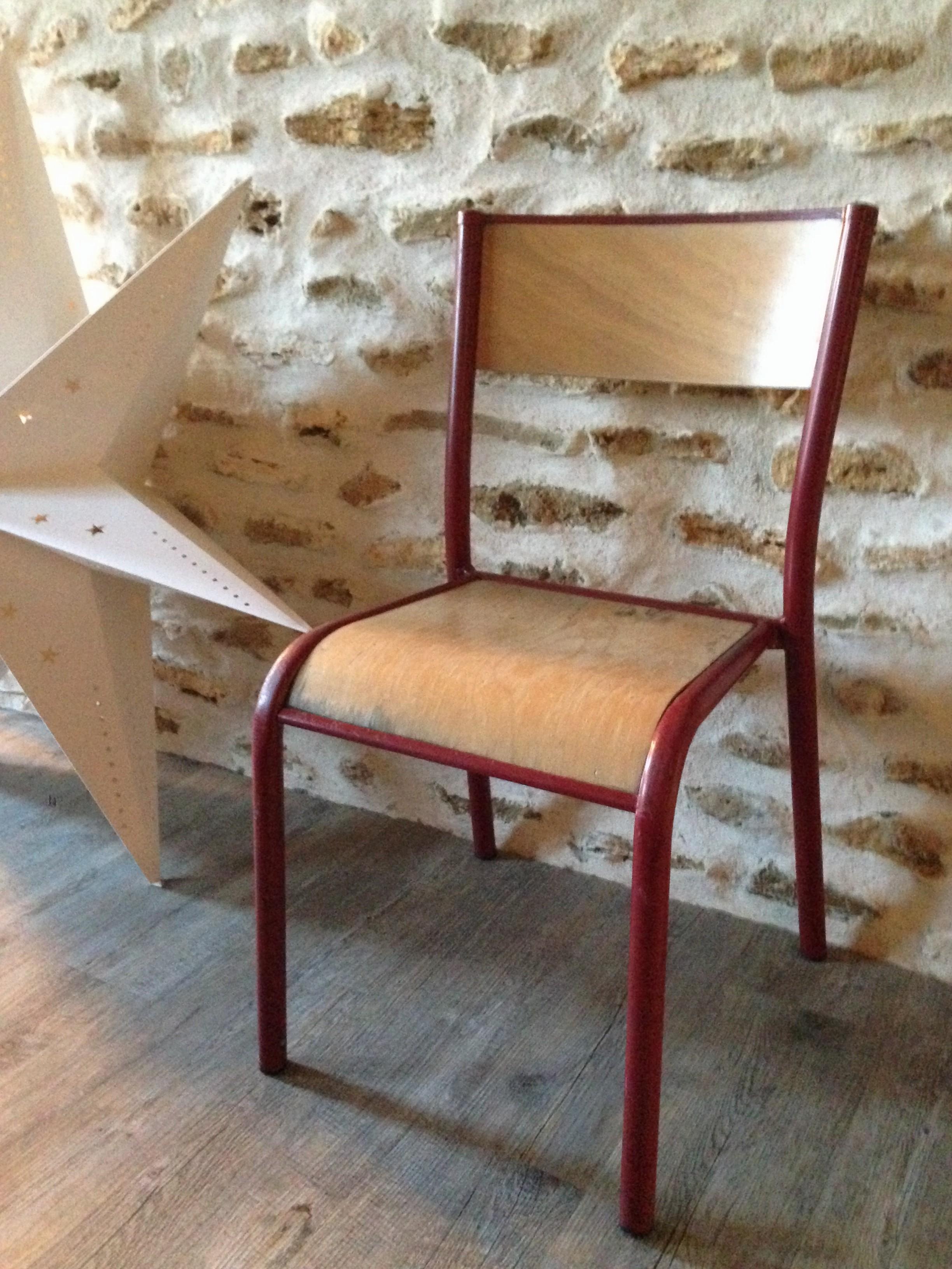 Chaise D École Mullca chaise d'école style mullca