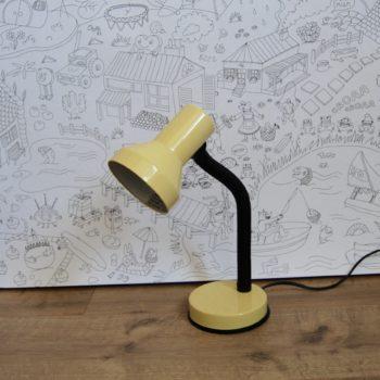 Lampe vintage jaune