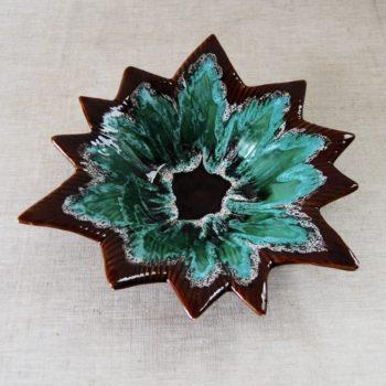 Plat Vallauris forme fleur