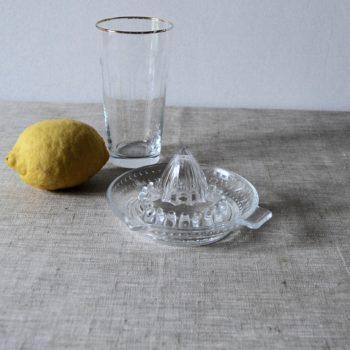 Presse agrume en verre
