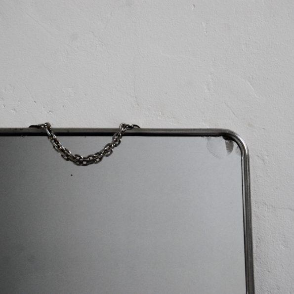 Miroir barbier grand format vintage 1960