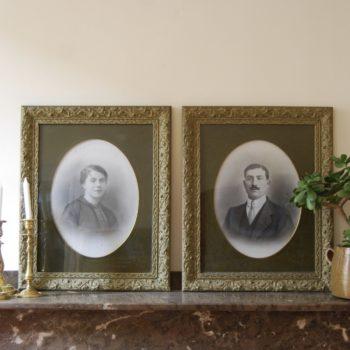 Tableaux portraits homme femme
