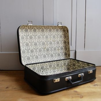 Valise vintage noire