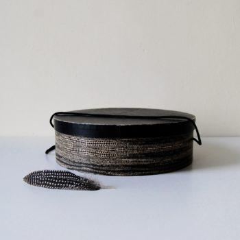 Boîte à chapeaux en carton