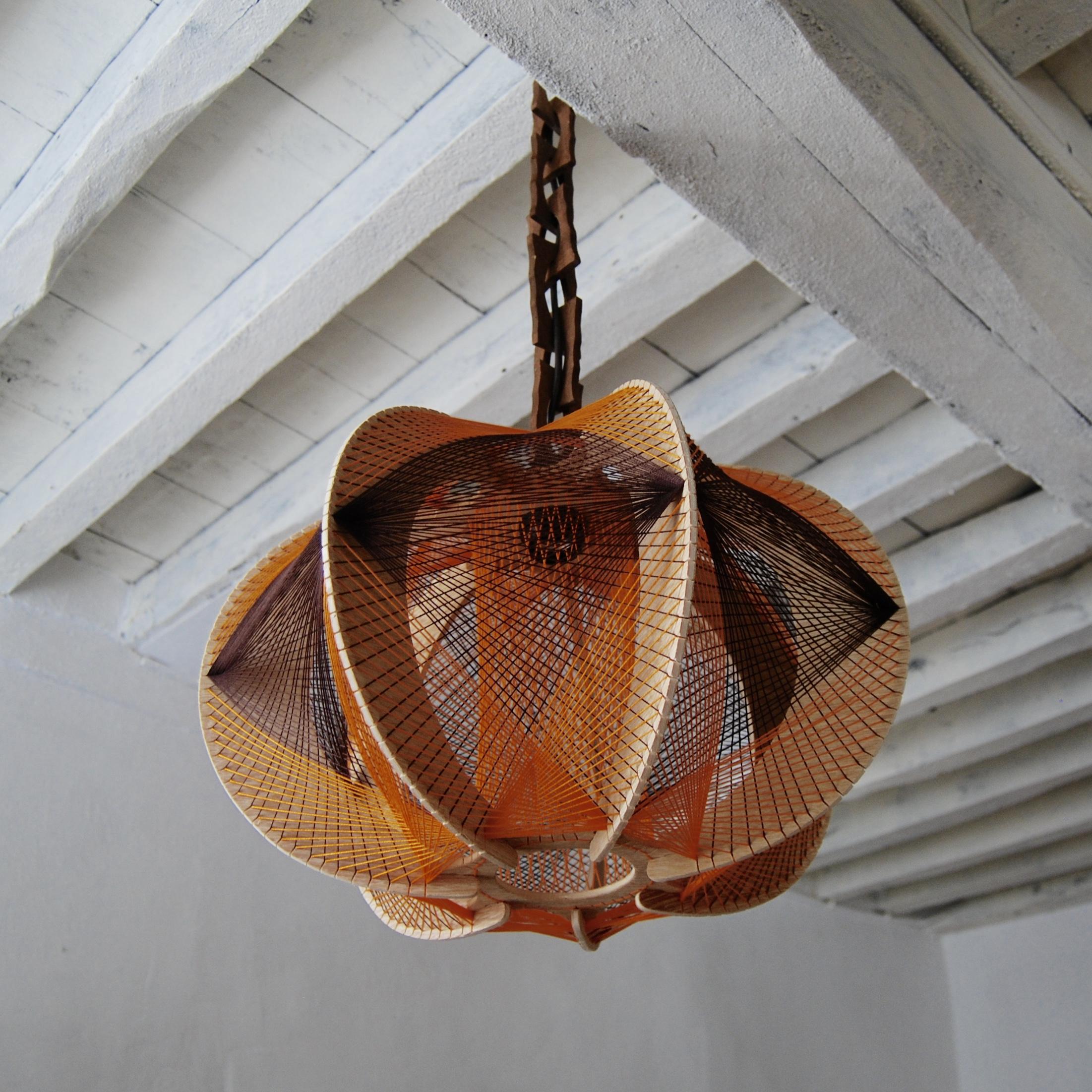 suspension scandinave fils et bois brocante avenue. Black Bedroom Furniture Sets. Home Design Ideas