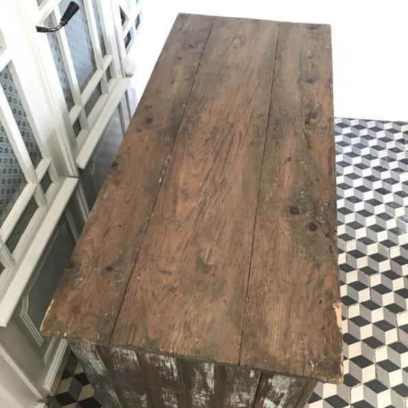 Meuble de métier quincaillerie bois 15 tiroirs