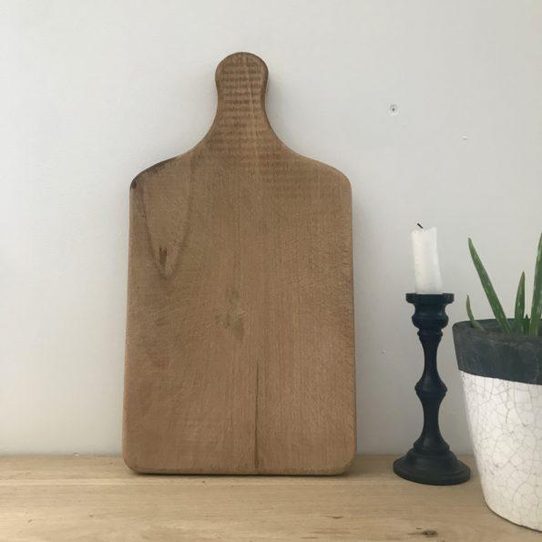 Planche à découper ancienne en bois vintage