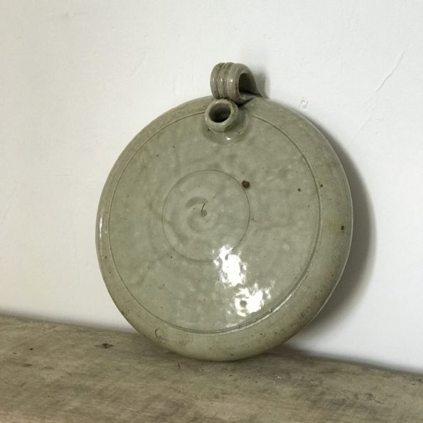 Bouillotte en céramique ancienne vase déco
